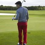 jugando golf en punta cana