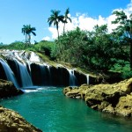 Dominican Water Fall